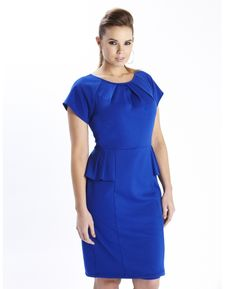 #plussize PEPLUM DRESS
