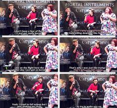 Jamie on flying hahaha