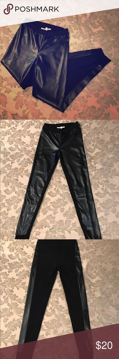 Victoria's Secret Faux Leather Leggings NWOT Vs Faux Leather Leggings Small /fits medium... NWOT Cute & Trendy  Never Worn Just been sitting in my closet  No Flaws just downsizing Victoria's Secret Pants Leggings