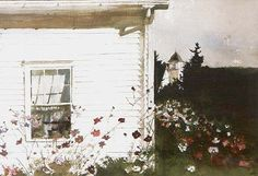 Chadds Ford Gallery - Around the Corner by Andrew Wyeth