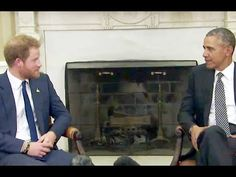 Cele|bitchy | When Harry Met Barry: Prince Harry met POTUS in the Oval Office