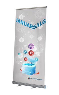 Er du klar til Januarsalget?    21 January 2013      Er du klar til Januarsalget?    En Rollup er den perfekte måten å fortelle kundene dine om akkurat dine tilbud!    Er du i tvil om hvordan Rollup'en skal se ut, det hjelper vi deg også med! Ring til oss på 48 32 72 22