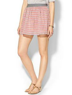 THML Clothing Soft Striped Skirt | Piperlime