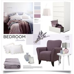 Romantic and relaxing bedroom by magdafunk on Polyvore featuring interior, interiors, interior design, дом, home decor, interior decorating, Possini Euro Design, Frette, Yves Delorme and Tessitura Toscana Telerie