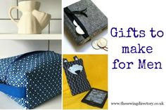 Sewing Men Projects Sewing projects for gifts for the men - Sewing Men, Sewing To Sell, Sewing Clothes, Sewing Hacks, Sewing Tutorials, Sewing Crafts, Sewing Ideas, Sewing Patterns Free, Craft Patterns