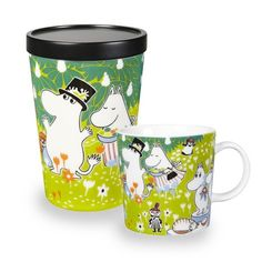 The adorable Tove 100 moomin mug 2014 from Finnish Arabia is a tribute to the famous author and illustrator Tove Jansson. In 2014 the the moomin charachters mother would have turned 100 years and the jubilee mug has its inspiration from Tove Janssons book Moomin Shop, Moomin Mugs, Tove Jansson, Centenario, My Collection, Finland, The Book, Original Artwork, Hygge