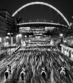 Fans heading home after the Engand v Holland friendly at Wembley.