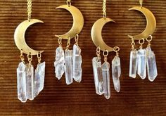 Moons and crystals