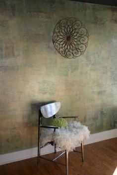 opulent Wandgestaltung mit Farbe wände gestalten nuancen vermischt