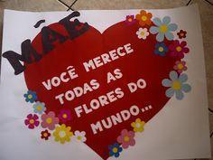 Mil ideias para criar e recriar: Cartazes para o Dia das Mães