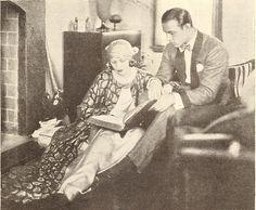 Rudolph Valentino and Natacha Rambova at Home - 1