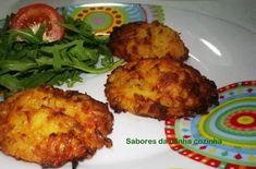 Bolinhos de batata, cenoura e queijo parmesão - Sabores da minha cozinha