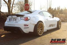 First turbocharged and Rocket Bunny GT86 in Germany #toyotagt86