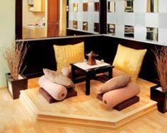Desain Interior Ruang Tamu Rumah Minimalis Bernuansa Jepang