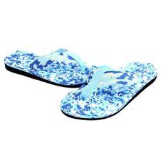Culater Chanclas de verano Zapatos Sandalias Zapatilla (44, Azul)