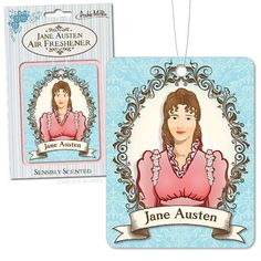 Jane Austen Air Freshener | Community Post: 8 Jane Austen Products You Probably Never Knew Existed