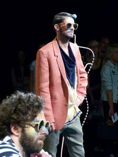 Andy Wolf Eyewear auf der Mercedes Benz Fashion Week in Berlin