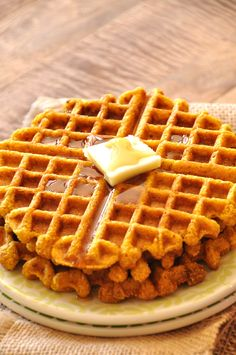 Pumpkin Cornbread Waffles (Vegan) If you're just using corn meal, I'd say add a little bit more flour, a 1/2 tsp baking soda and a pinch of salt. You can, of course, taste the batter before cooking since they're vegan – at that point, adjust sugar/salt as needed.