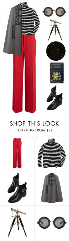 """Untitled #3805"" by lbenigni ❤ liked on Polyvore featuring Joseph, J.Crew, WithChic, IMAX Corporation and Christopher Kane"
