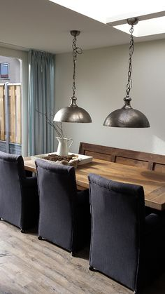 dining table valve bench industry robust lamps castle table rural dining table rnrnSource by Dining Room, Dining Table, Table Bench, Kitchen Lighting, My Dream Home, Coffee Shop, Industrial, Php, Ceiling Lights