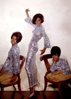 vintage silver sequin tunics, the chairs are so wrong..