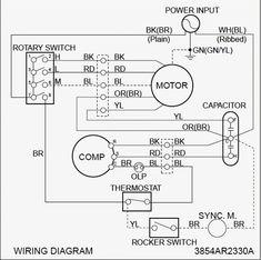 Dometic Ac Capacitor Wiring Diagram