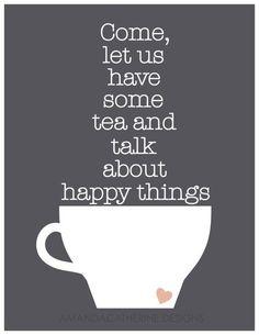 Happy Things.