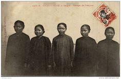 COCHINCHINE SAIGON Groupe de femmes