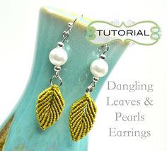 use tutorial  for leaves and feathers in jewelry pieces add enough strings for each thing, just use tutorial as base reference.