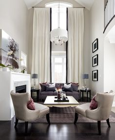 Jane Lockhart Interior Design - transitional - living room - Toronto