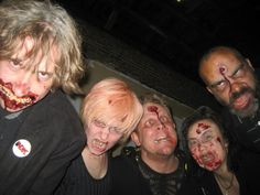 """Zombie Makeup by """"Monster"""" Midian Crosby of Monster Makeup FX"""