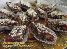 Greek Sweets, Greek Desserts, Greek Recipes, Frozen Yoghurt, Sweet Pastries, Trifle, Deserts, Dessert Recipes, Food And Drink
