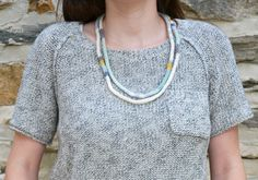 Free Pattern: Heat Wave Necklaces