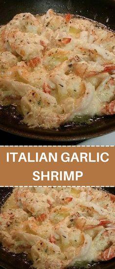 Best Shrimp Recipes, Shrimp Recipes For Dinner, Seafood Dinner, Fish Recipes, Seafood Recipes, Appetizer Recipes, Cooking Recipes, Yummy Recipes, Appetizers