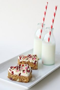 Cranberry White Chocolate Bars by andrew...