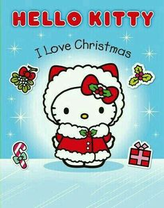 I Love Christmas Sticker Activity Book (Hello Kitty) by Sanrio Hello Kitty, Hello Kitty Art, Hello Kitty Pictures, Hello Kitty Items, Hello Kitty Clipart, Kawaii, Hello Kitty Christmas, Merry Christmas, Christmas Unicorn