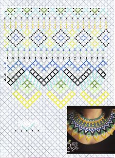 Beaded Jewelry, Jewelry Necklaces, Beaded Necklace, Jewelry Patterns, Beading Patterns, Beaded Collar, Beading Projects, Diy Accessories, Beaded Flowers
