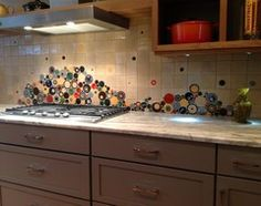 1000 images about old houses rock on pinterest for Alternative kitchen backsplash ideas