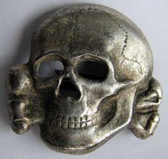 Military Art, Military History, Criminal Tattoo, Ww2, Skulls, Mythology, Iron, Metal, War