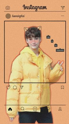 Hyuning kai so cute 😋 - Christina K Idol, South Korean Boy Band, Cute Wallpapers, Little Boys, Boy Groups, Memes, Kpop Boy, Cute Backgrounds, Editing Pictures