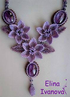 Beautiful beaded jewelry by Elina Ivanova | Beads Magic