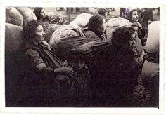 Belzyce, Poland, 1940, Jews being deported.