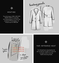 The SMART COAT for Men and Women: the Coat that Heats by EMEL AND ARIS — Kickstarter