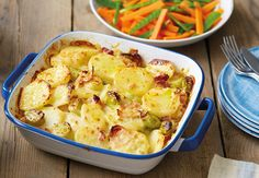 Bacon Potato Leek Bake