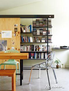 Bookshelf single door