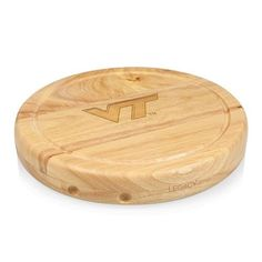 Virginia Tech Circo Circular Chopping Board w/Laser Engraving
