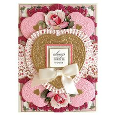 HSN November 2, 2020 - Product Preview 1 - Anna Griffin Valentine Day Cards, Valentines, Card Making Kits, Anna Griffin Cards, Metallic Paper, Beautiful Textures, Embossing Folder, All Design, Your Cards