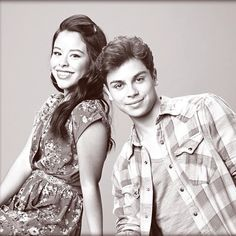 Cierra Ramirez & Jake T. Austin