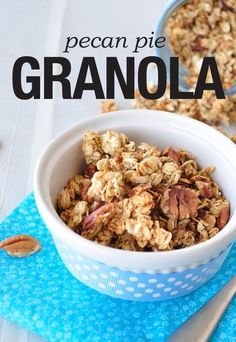 This healthy granola recipe is absolutely delicious!