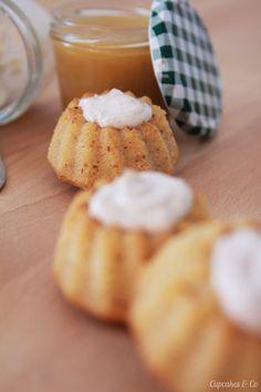 Mini Apfelmus Gugel mit Quark-Zimt Creme | Cupcakes & Co cupcakesundco.wordpress.com
